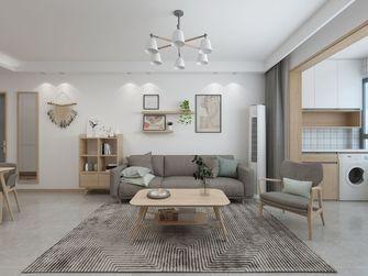 100平米三室一厅日式风格客厅图片大全