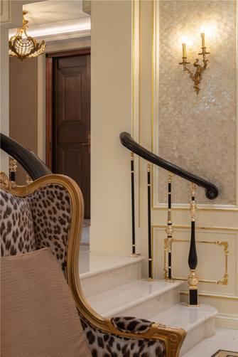 140平米别墅英伦风格楼梯间装修图片大全
