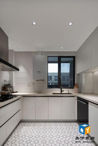 90平米三室一厅北欧风格厨房欣赏图