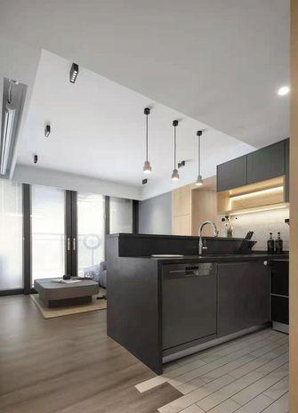 50平米公寓现代简约风格餐厅效果图
