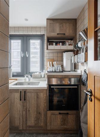 60平米一居室田园风格厨房装修图片大全