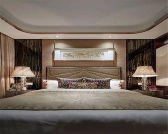 90平米三室一厅中式风格卧室装修效果图