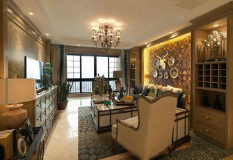 110平米四室两厅地中海风格客厅设计图