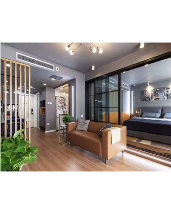 60平米公寓现代简约风格客厅装修案例
