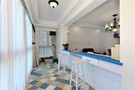 110平米三室两厅地中海风格储藏室装修图片大全