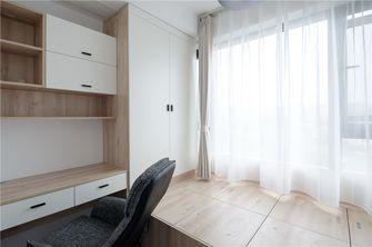 90平米三室两厅北欧风格书房图