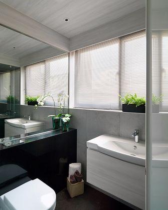 140平米四室一厅田园风格卫生间欣赏图