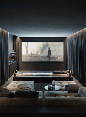 140平米其他风格影音室欣赏图