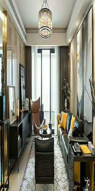 90平米四室一厅欧式风格客厅图