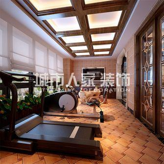 140平米四室两厅美式风格健身室设计图
