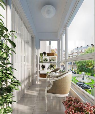 经济型30平米以下超小户型新古典风格阳台图