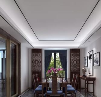 110平米三中式风格餐厅图片大全