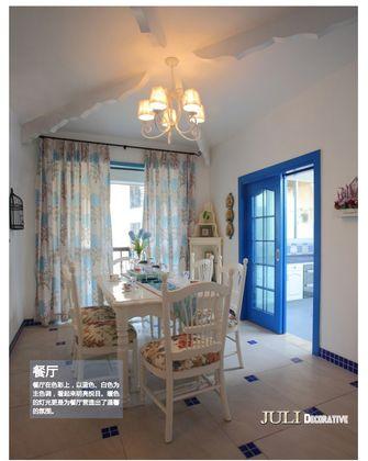 5-10万70平米一室两厅地中海风格餐厅图片大全