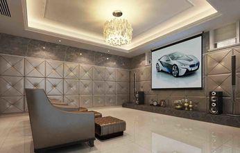 20万以上140平米别墅英伦风格影音室图