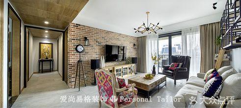 10-15万100平米三室两厅新古典风格客厅图