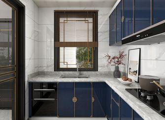120平米三室三厅中式风格厨房设计图