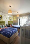 140平米四室两厅美式风格儿童房背景墙图片大全