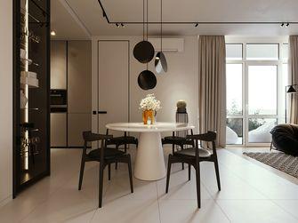 50平米一室两厅现代简约风格餐厅图片大全
