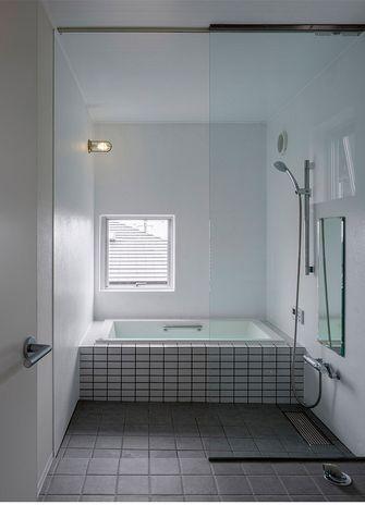 60平米一居室田园风格卫生间欣赏图