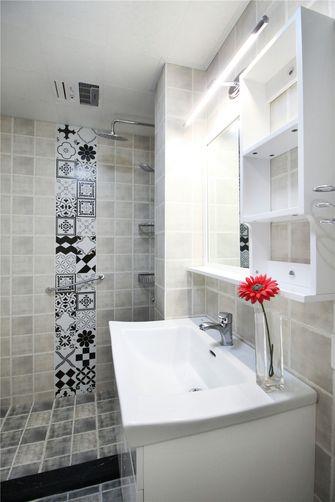 60平米一室两厅欧式风格卫生间图
