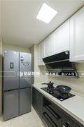 80平米三室一厅北欧风格厨房欣赏图