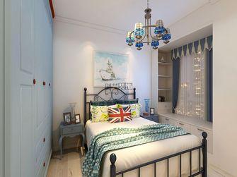 110平米三室两厅地中海风格卧室图片大全