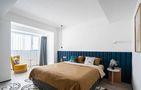 120平米一居室现代简约风格卧室装修图片大全