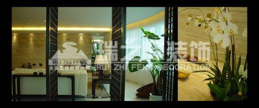 经济型90平米三室两厅东南亚风格玄关效果图