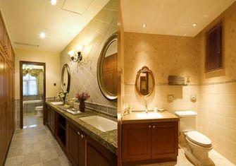 豪华型140平米别墅美式风格卫生间图片大全