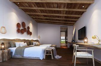 140平米别墅田园风格卧室效果图