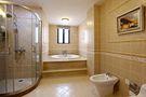 20万以上140平米别墅英伦风格卫生间图片