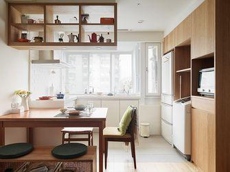 60平米一室一厅日式风格厨房图片