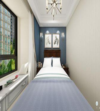 140平米三室两厅美式风格卧室图片大全