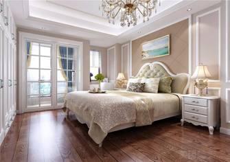 130平米三室两厅欧式风格卧室装修效果图
