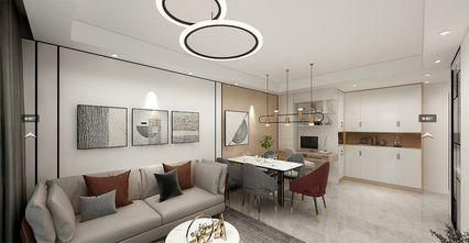 120平米一室一厅现代简约风格餐厅装修案例
