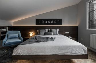 140平米三室两厅现代简约风格阁楼设计图