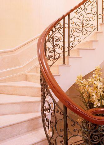 豪华型140平米别墅北欧风格楼梯装修案例