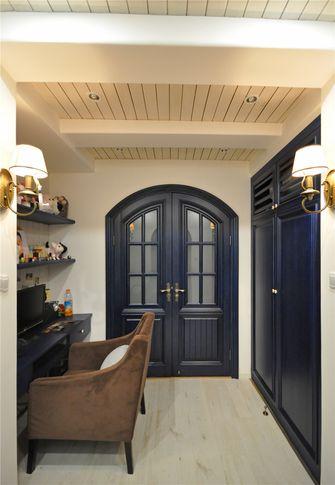 90平米三室两厅地中海风格书房欣赏图