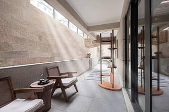 140平米三室一厅日式风格阳台图