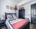 140平米四室三厅美式风格儿童房图