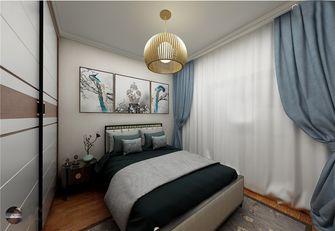 130平米四室三厅中式风格卧室装修图片大全