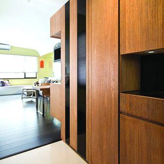 5-10万110平米三室两厅东南亚风格玄关图片