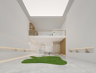 140平米别墅日式风格其他区域效果图