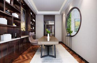 140平米三中式风格书房装修效果图