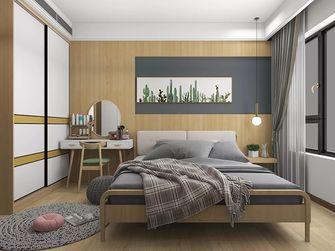 80平米三北欧风格卧室装修案例