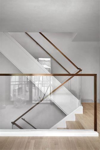 140平米别墅现代简约风格楼梯间图片大全