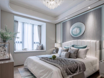 30平米以下超小户型欧式风格卧室图