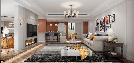140平米复式欧式风格客厅图