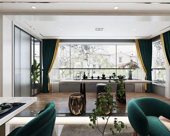 110平米四室两厅美式风格阳台效果图