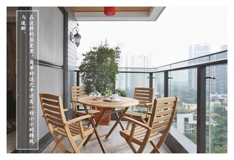 豪华型140平米四新古典风格阳台效果图
